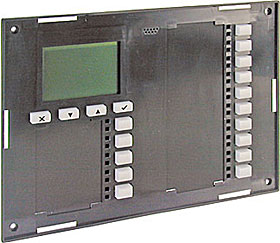 LED/LCD front device including electronics, gray