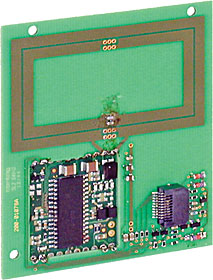 Legic reader pcb for Led and LED/LCD keypad