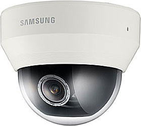 IP Indoor flat Dome camera, TD/N, HD 1080p, 2MP, f=3-8.5mm, WDR, PoE & 12V