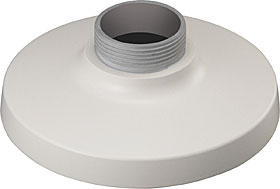Adapter for mounting selected dome camera with console