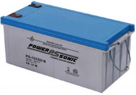 Battery 12V/220Ah with terminals Bolt M8