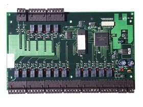 Output module with 16 relays for PRO-3200 system
