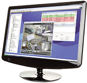WIN-PAK SE 4.x for ACS management, 5-user version, incl. advanced CCTV