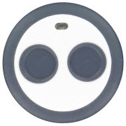 Wireless Panic Alarm Keyfob (configurable), two buttons