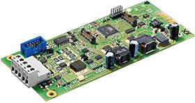 Single loop interface for BC600 series panels, max. 318 elements on the loop.