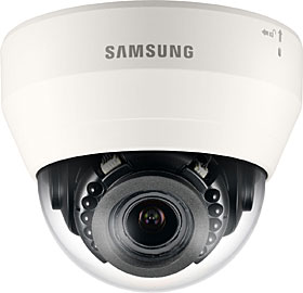 Indoor IP dome camera, TD/N, HD 720p, 1.3MP, f=2.8-12mm, IR 20 m