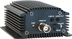 Video Encoder, 1CH, 30IPS, H.264, SD, PoE