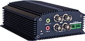 Video Encoder, 4CH, 120IPS, H.264, SD, PoE
