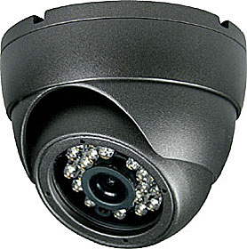 Outdoor dome camera, TD/N, 800TVL, f=2.8mm, DWDR, IR 15m, 12V, grey