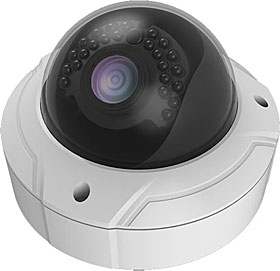 Outdoor IP dome camera, TD/N, HD 1080p, 2MP, f=2.8-12mm, WDR, IR 30m, IP66