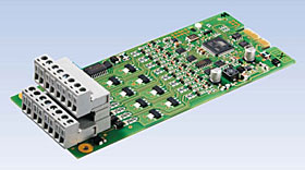 Conventional detector interface for BC600 series panels, max. 8 detector lines.