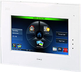 Galaxy TouchCenter Plus flush mount, with Proximity reader