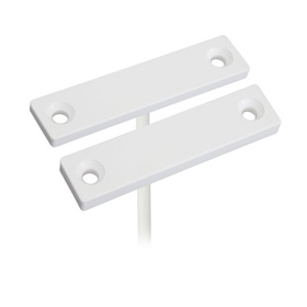 Magnetic contact, thin white housing, 6m perpendicular 4 cores white cable