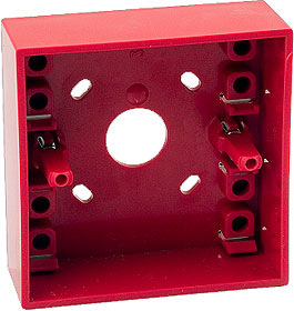 Surface Mounting Box, red