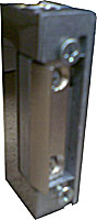 Symmetrical strike STANDARD with adjustable latch, 12 VDC, without faceplate