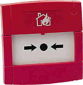 Red Call Point, N/C or N/O Contact, Flush, Flexi