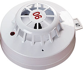XP95 high temperature heat detector, class CS (90°C).