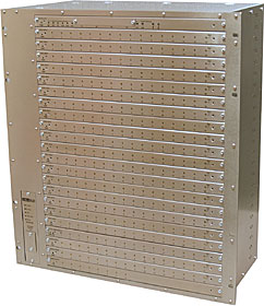 VB 12U Card Cage with 23 card slots includes power supply