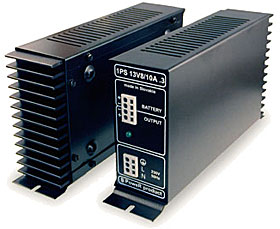 Switched power supply - module 13,8 Vdc / max. 10A total, disc. of battery