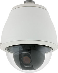 ACUIX IP Dome,Ind Pend,26XWDR&TDN PAL, Clear Dome/Wht Trim