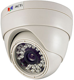 "IP kamera dome D/N, ICR, 1/3"", 720x576, 12V, PoE, f=4.3mm, IR přís, 3-axis audio"