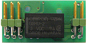Relay card, 1 output, for RF 4I/O wireless module