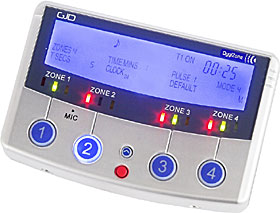 DygiZone - 4 zone digital lighting controller & enunciator