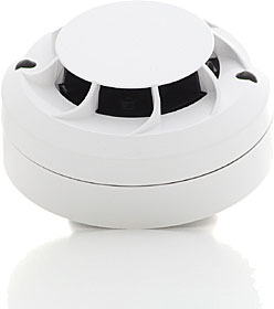 S200 Advanced optical smoke detector with isolator, white colour.