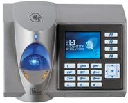 Biometric fingerprint reader for extreme outdoor conditions, LCD+keypad