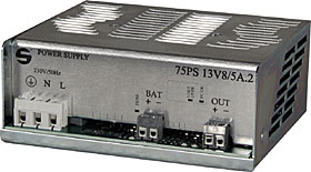 Switched power supply - module 13,8 Vdc / max. 5,0A total