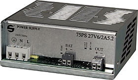 Switch mode PSU module, 27,6 VDC / 2,5 A, unboxed, terminals.