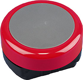 Fire alarm bell, red body, 24 VDC, IP21.