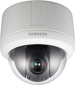 IP Indoor PTZ Dome camera, T/DN, 4CIF, zoom 12x, WDR, PoE & 24V