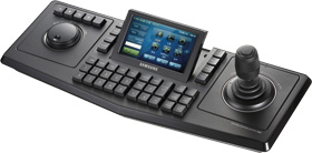 "System Control Keyboard, 3D joystick, 5"" TFT touch LCD, RS-422/485"