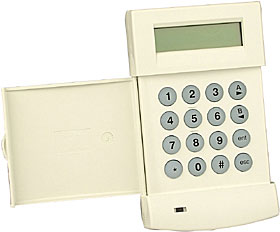 Galaxy LCD MK7 keypad with volume control (CP037-01)