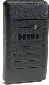 HID proximity reader, up to 7 cm read range