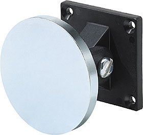 Keeper plate with angle adjustment, diameter 65 mm.