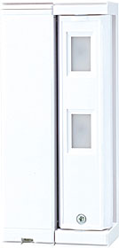 Battery operated PIR detector, max. 5 x 1 m, mount. height 0,8 - 1,2 m, AM