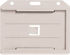 Multi-Card Holder horizontal - CLEAR