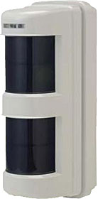 Battery operated PIR detector, 2 det. zones, max. 12 m / 90° each