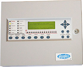 Syncro AS - 1 loop analogue addressable fire control panel, Apollo protocol